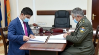 YSU HAS SIGNED A COOPERATION AGREEMENT WITH THE MILITARY AVIATION UNIVERSITY NAMED AFTER MARSHAL ARMENAK KHANPERYANTS